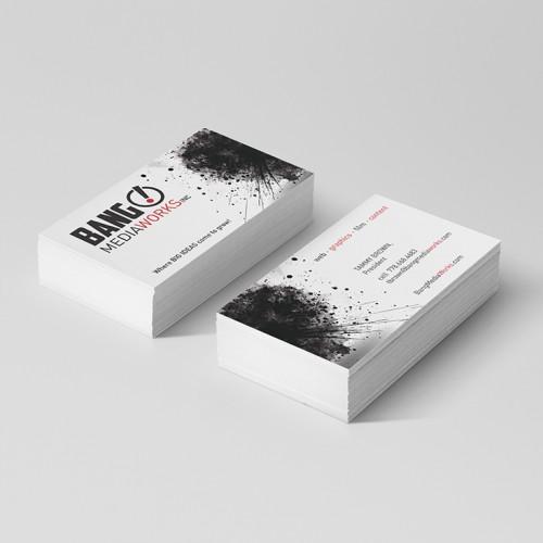 Bang! MediaWorks Inc.: Business Card