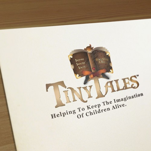 Tiny Tales Book Series: Corporate Logo